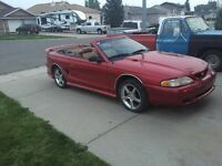 1994 mustang Gt convertible, fall price reduction