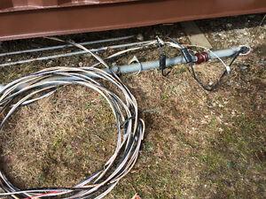 Mat électrique 10 pied et 54 pied fil de raccord