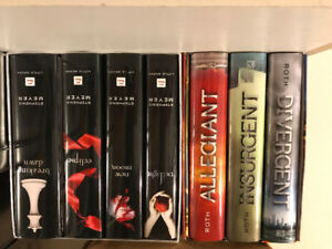 Hunger Games, Divergent hard cover book series