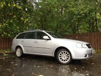 Chevrolet Lacetti Estate Long Mot Only 57k On The Clock