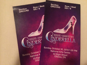 Two Tickets to Cinderella Broadway At NAC