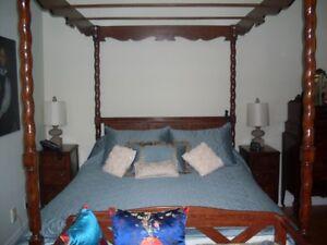 ensemble chambre à coucher antiquité - bedroom set antique