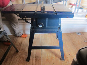 """Mastercraft 10"""" Deluxe Table Saw"""