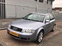 AUDI A4 ESTATE AVANT TDI SE 2.5 V6 160 BHP DIESEL AUTOMATIC PADDLE SHIFT 6 SPEED GEAR BOX SPORTS