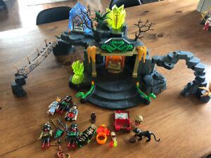 Temple Playmobil