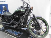 KAWASAKI VN900 CDF CUSTOM ABSOLUTELY PRISTINE BIKE WITH VANCE AND HINES PIPES