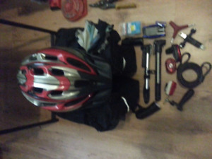 Bunch of bike stuff for sale