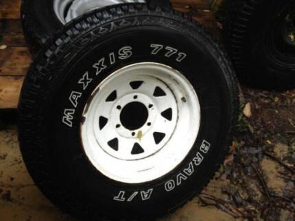 Sunraiser 6 Stud 4x4 Spare Wheels Kalamunda Kalamunda Area Preview