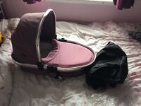 Icandy peach 3 blossom carrycot marshmallow
