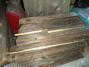 Authentic Old Barnboards