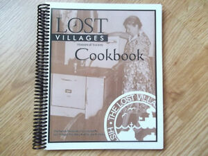 SIGNED COOKBOOK ON THE LONG SAULT LOST VILLAGES Cornwall Ontario image 1