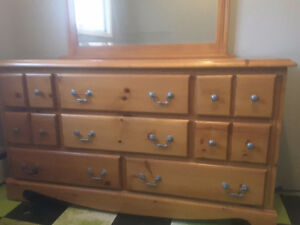 Like new dresser great shape need gone