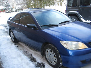 2004 Honda Civic lx Coupe (2 door) Cambridge Kitchener Area image 5