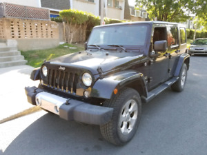 JEEP Wrangler Sahara UNLIMITED End-2014 4-Doors Automatic