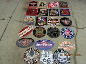 HARLEY DAVIDSON METAL SIGN COLLECTION, 30 YEARS