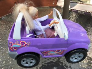 Barbie with Dune Buggy