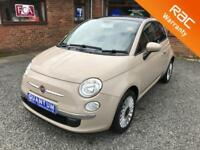 Fiat 500 1.2 ( 69bhp ) ( s/s ) LOUNGE 3 Door Hatchback