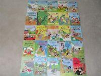 25 livres vintage de la collection Walt Disney - enfants