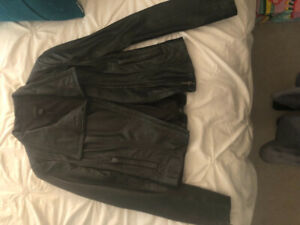 Selling a Danier Leather Jacket Size XXS (fits more like XS-S)!