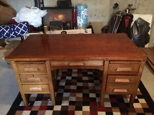 Great Real Wood Desk