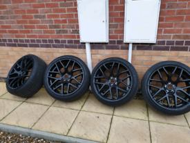 """Vw t5/5.1 20"""" load rated wheels with new tyres"""