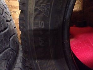 Goodyear Nordic Snow tires 205 55 15 NEW! Only 100 km! Regina Regina Area image 4
