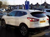 2014 64 NISSAN QASHQAI 1.5 DCI TEKNA 5DR * PAN ROOF LEATHER * DIESEL