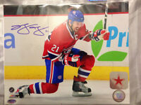 Brian Gionta Autographed Montreal Canadiens 8x10 Photo with COA