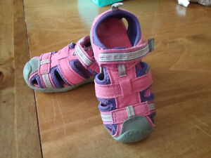 girls pediped sandals size 7