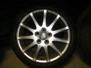 215-45-17 HANKOOK TIRES LEXUS IS300 MAGS 5X114.3 JDM ALTEZZA