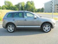 2008 (08) VOLKSWAGEN TOUAREG 3.0TDI V6 AUTO ALTITUDE WITH SAT/NAV+SUNROOF+FSH
