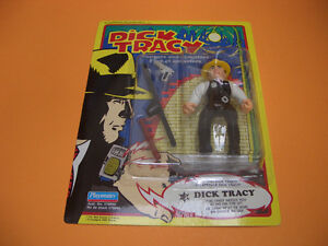 (2) DICK TRACY FIGURES THE TRAMP AND DICK TRACY London Ontario image 4