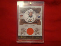TAYLOR HALL HEIRS TO THE THRONE MATERIAL CARD #170/250