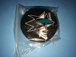 NHL Puck Beer Bottle Opener San Jose Sharks
