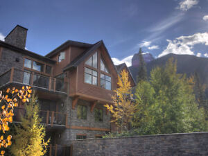 Canmore Penthouse with Stunning Views