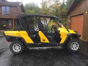 BRP Bombardier 2014 Can-Am Commander Max XT 4 seat Side by side St. John's Newfoundland image 3