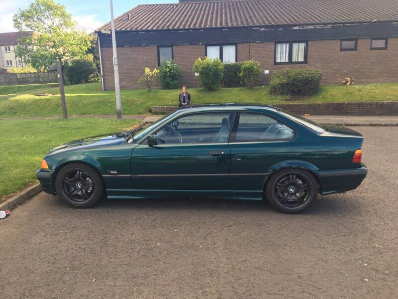 bmw e36 coupe 1 8 is swap or sale in stirling gumtree. Black Bedroom Furniture Sets. Home Design Ideas