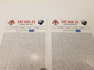 Toronto FC vs Montreal Impact Saturday August 25 (CNE)