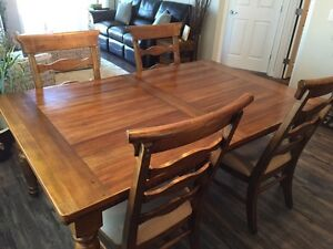 Dinning Room table and chairs!