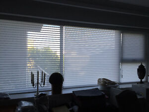 WINDOW BLIND COVERINGS- HUNTER DOUGLAS SILHOUETTES AND WOOD