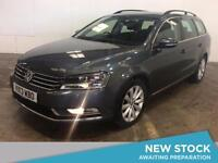 2013 VOLKSWAGEN PASSAT 2.0 TDI Bluemotion Tech Highline 5dr DSG Auto Estate
