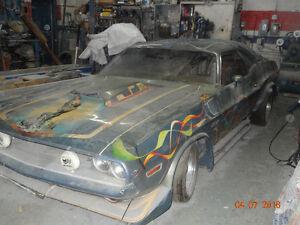 dodge chalenger 1970 a restaurer