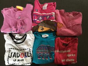 vêtements pour filles 4T