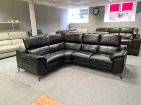 Sofolgy Genuine leather Corner sofa power recliner