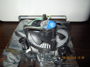 Computer parts for sale (CPU, heatsink, RAM)