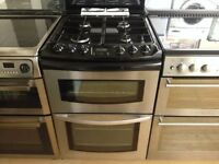 60cm gas cooker (double oven)