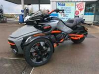 2021 Can-Am Spyder F3s Special Gravity Grey Orange frame trike