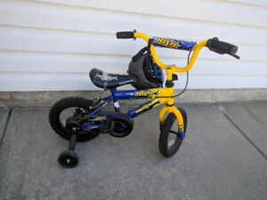 Kids Bike with Helmet