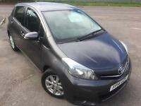 TOYATA YARIS 1.33 VVT-i ICON £38 WEEK REV CAM BLUETOOTH CD A.C 5 DR HATCH 2014