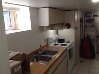 Bright and Clean Basement Apartment Available Jan 1st
